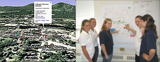 Goffstown Placemarks by Charter Academy Students in Google Earth