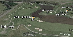 Golf in Google Earth