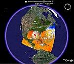 Hurricane Katrina Time Animation in Google Earth