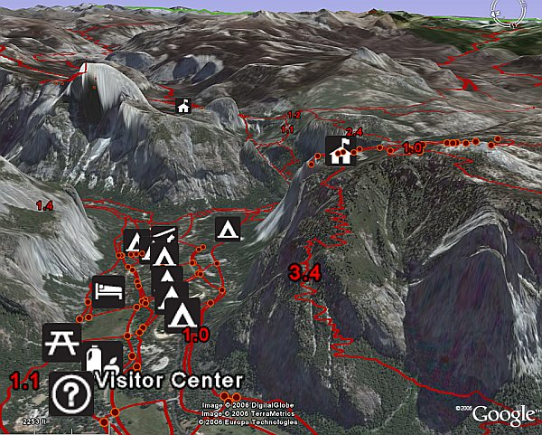 US National Parks Layer in Google Earth - Google Earth Blog