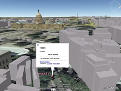 Bocas de Incendio de Washington en Google Earth