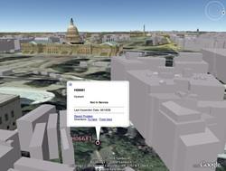 DC Hydrants in Google Earth