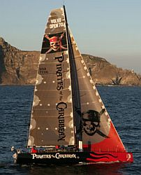 Pirates of the Caribbean Sailboat Volvo Ocean Race