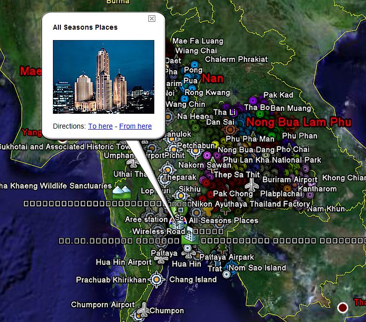 Everything you wanted to know about thailand google earth blog this gumiabroncs Images