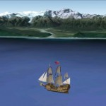 Captain James Cook's circumnavigation of South Island, New Zealand