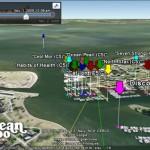 Caribbean 1500 Rally using Google Earth once again