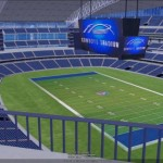 Cowboys Stadium, home of this years Super Bowl, looks great in 3D