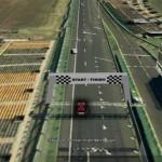 Race Formula One tracks with Google Earth