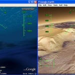 Google Earth 5 Cool Tip: Flight Simulator in Ocean or Mars