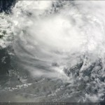 Hurricane Irene in Google Earth