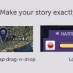 Meograph adds drap-n-drop, longer narrations and more