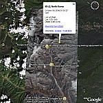 North Korean Nuclear Test  in Google Earth