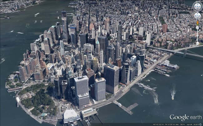 New York City gets fresh 3D Imagery | My Google Map Blog