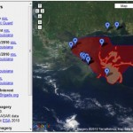 Google offers a ton of info about the Gulf of Mexico oil spill