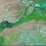 Imagery of the flooding in Pakistan