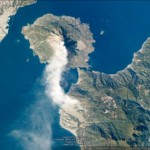 Great imagery of the Sakurajima Volcano in Japan