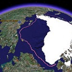 More Detailed Arctic Ice Melting Animation in Google Earth