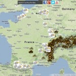 Exploring the Tour de France in Google Earth
