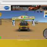 Rally racing in Google Earth