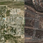 Exploring urban growth in Spain with Google Earth