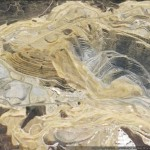The Bingham Canyon Mine landslide in Google Earth