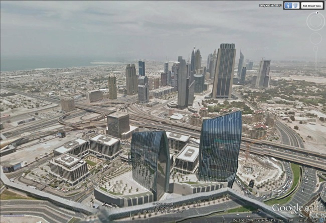 Experience the Burj Khalifa in Street View Google Earth Blog – View Street Map Google Earth