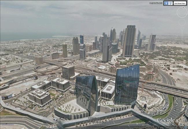 Experience The Burj Khalifa In Street View Google Earth Blog