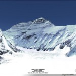 The ice of Mount Everest