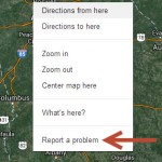 Correcting map errors in Google Earth