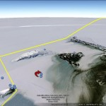 "Following the ""Scott Expedition"" in Google Earth"