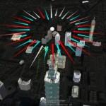 3D Fireworks in Google Earth