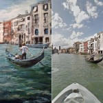 Creating artwork based on Street View