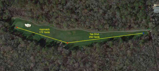 google earth golf