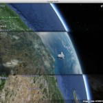 "All of the views from the ""Gravity"" movie in Google Earth"