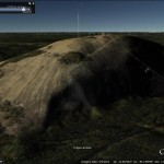 Using Google Earth to predict light conditions