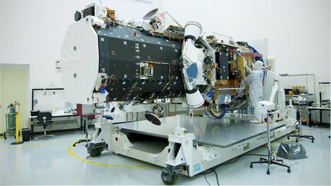 google earth satellites
