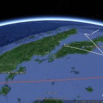 Mapping Flight MH370 in Google Earth