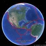 The Topography of Plate Tectonics in Google Earth