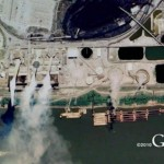 Using Google Earth to prove a case of illegal waste dumping