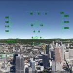 Using the Google Earth Flight Simulator
