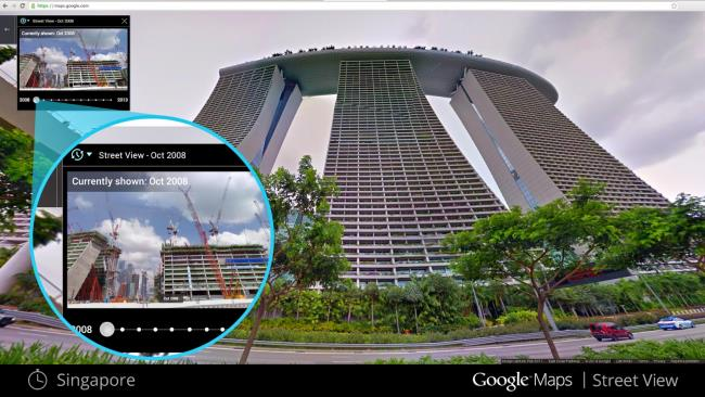 Google Releases Historical Street View Feature Google Earth Blog