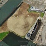 The artwork of Jorge Rodriguez-Gerada in Google Earth