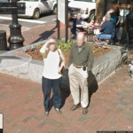 Blurring and unblurring Street View