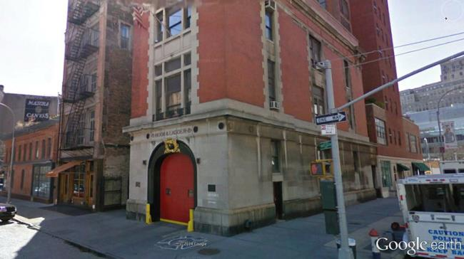 ghostbusters fire station