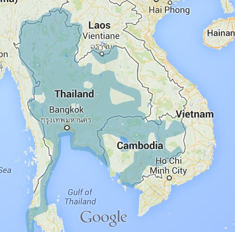 Cambodia-Street-View-coverage