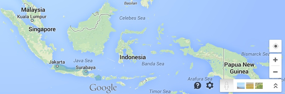 Street-View-Indonesia-coverage
