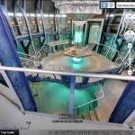 The TARDIS in Google Earth