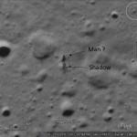 An alien on the Moon?