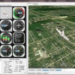 Google Earth drone control