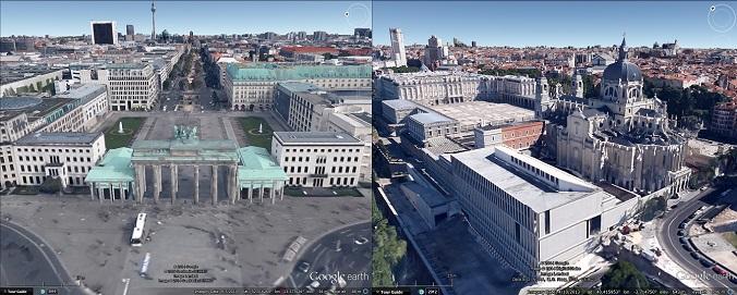 Berlin and Madrid